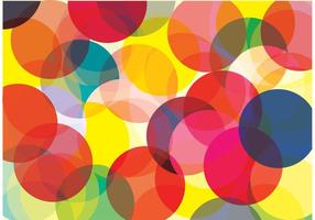 Bright Circle Bokeh Background