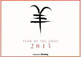 Année 2015 de la chèvre