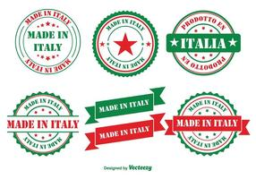 Made in Italy Insignias