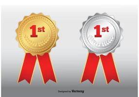 Erster Platz Medaillen