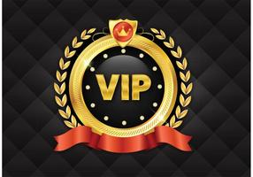 Icono de Golden VIP gratis vector