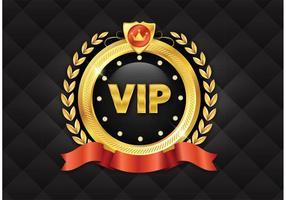 Free Golden VIP Vector Icon