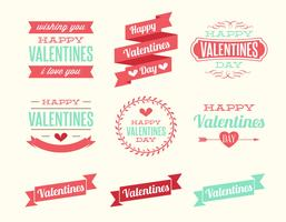 Alla hjärtans dag etiketter