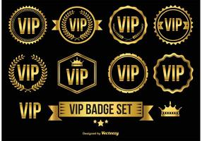 Gold VIP Badges / Icons