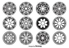 Dekorativa cirkelformer