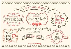 Save The Date Elements
