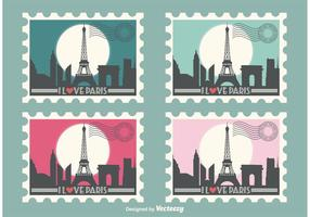 Eiffel-tower-vector-stamps