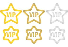 VIP Stars vector