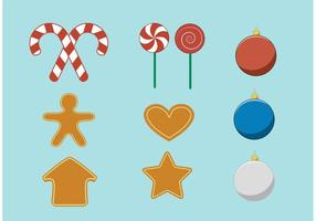 Vector Christmas Accessories