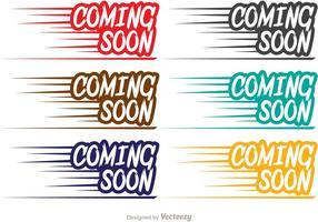 Fast Coming Soon Vectors