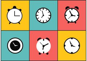 Relojes vectoriales