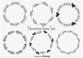 Cute Decorative Frames vector