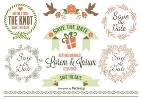 Save the Date Labels