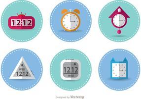 Vecteurs à horloge cousue
