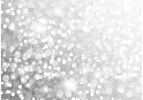 Silver Glitter Vector Background