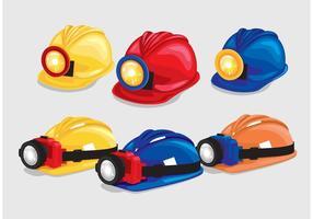 Helm Met Lichte Vectoren