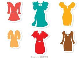 Vettori del vestito operato