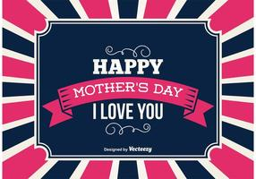 Mother's Day Background vector