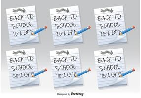 Back to School Discount Notes