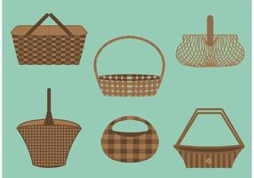 Old Basket Vectors