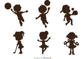Sporty Kids Vector Pack