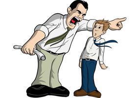 Man wordt ontslagen door gemiddelde baas