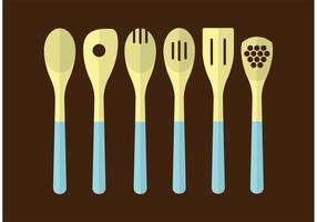 Utensili da cucina in legno