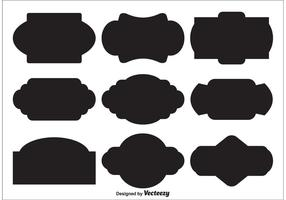 Vector Label Shapes
