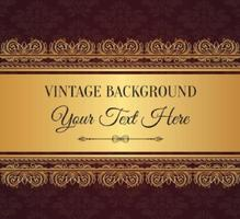 Fond élégant en style vintage