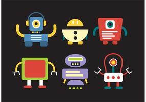 Robot Vectores