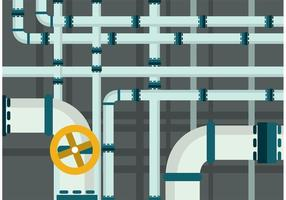 Sewer pipes vector