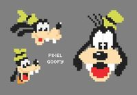 Free Vector Pixel Goofy Portraits