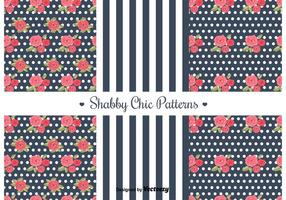 Free Shabby Chic Patterns vector
