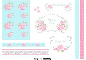 Free Vector Set von Design-Elemente