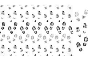Free Vector Muddy Footprints Pattern