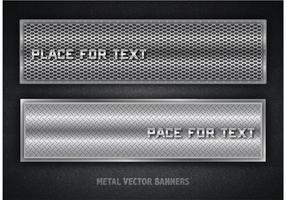 Free Vector Metal Banners