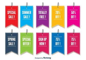 Promotional Vector Tags