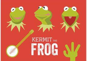 Kermit grodvektorerna