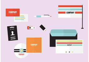 Firmenprofil Vorlagen Vektoren