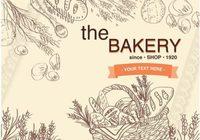 Old Basket Bakery Background