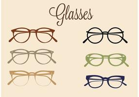 Free Vector Brille Set