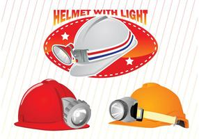 Helmet-with-light-vectors