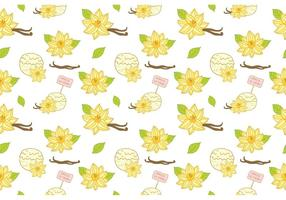 Gratis Vanilj Ice Cream Pattern Vector