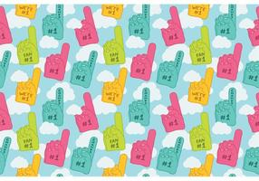 Free-1-foam-finger-seamless-pattern-vector
