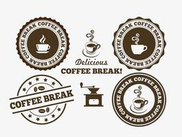 Coffee Break Badges