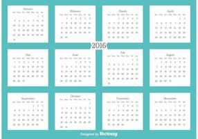 2016 Kalender