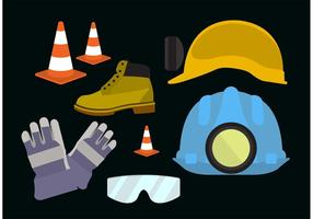 Safety gear vector