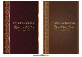 Vintage Book Covers vector