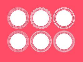 Decorative Round Frames vector