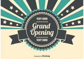 Grand opening illustration vecteur